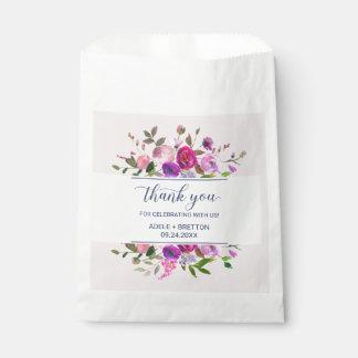 Romantic Garden Thank You Favor Bag