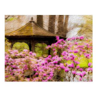 Romantic Gazebo Post Card