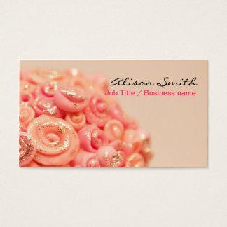 Romantic generic Business card