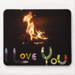 Romantic gift for the one you love mouse mat