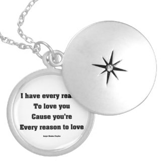 romantic gift silver plated necklace