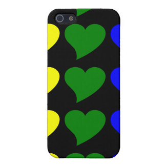 Romantic Gifts for Girls : A Rainbow of Hearts iPhone 5 Covers