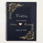 "Romantic  golden Floral Navy Blue  planner<br><div class=""desc"">Romantic  golden Floral Navy Blue  planner</div>"