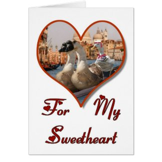 Romantic Gondola Ride card
