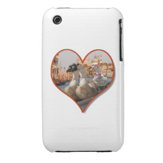 Romantic Gondola Ride for Two Geese Case-Mate iPhone 3 Case