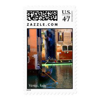 Romantic Gondoliers Postage