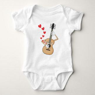 Romantic Guitar Serenading T Shirt