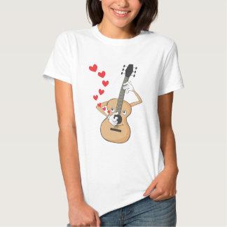 Romantic Guitar Serenading T-shirt