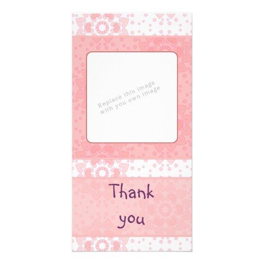 Romantic heart design card