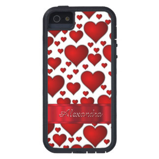 Romantic heart pattern personalized iPhone SE/5/5s case