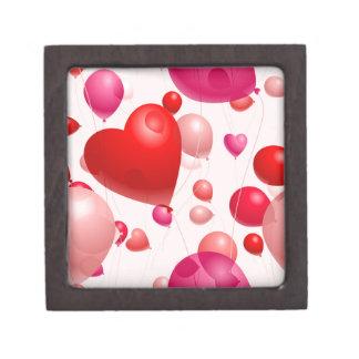 Romantic-Heart-Shaped-Balloons- PINK RED HEART SHA Premium Gift Box