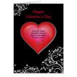 Romantic Heart Valentine's Day Card