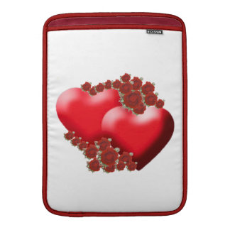 Romantic hearts and flowers Rickshaw Sleeve