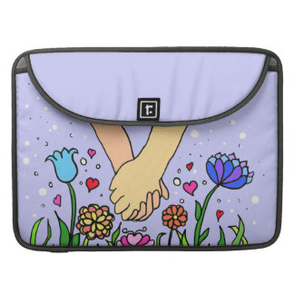 Romantic Holding Hands - dating / anniversary gift MacBook Pro Sleeves
