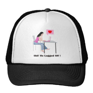 Romantic Image And Quote Trucker Hat