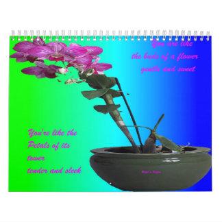 Romantic-Inspirational Calendar