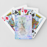 Romantic, inspirational VOLTAIR quote DANCING Poker Cards