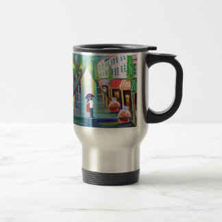 Romantic Interlude -Paris Travel Mug