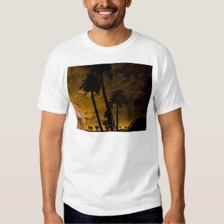 romantic island golden t-shirts