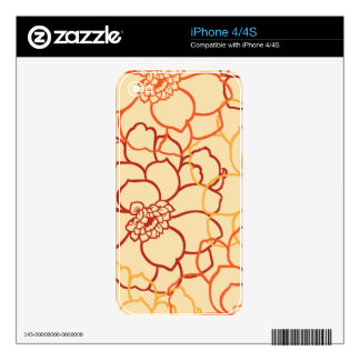 Romantic Jubilant Graceful Compassionate iPhone 4 Decal