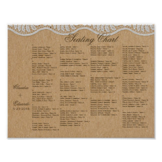 Romantic Lacey Dreams With Flowers Poster