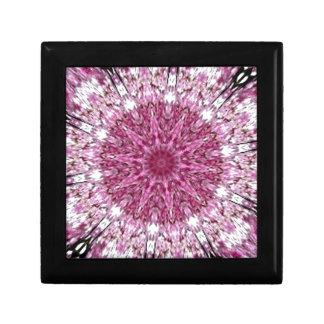 Romantic Lacy Pink Kaleidoscope Trinket Box