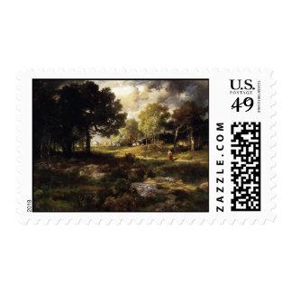 Romantic Landscape - 1885 Postage