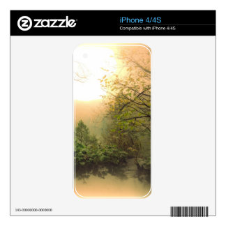 Romantic Landscape Decal For iPhone 4S