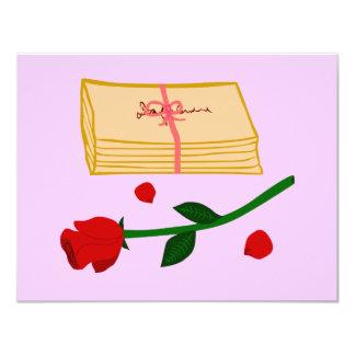 Romantic Love Letters Announcement