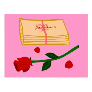 Romantic Love Letters Post Cards