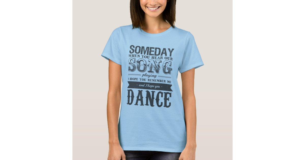 Romantic Love Song And Music Quotes T Shirt Zazzle Com