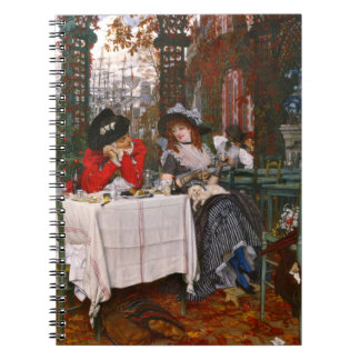 Romantic Lunch 1886 Notebook