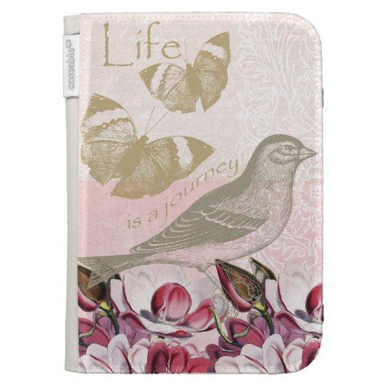Romantic Magnolias Kindle Folio Case