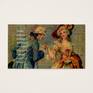 Romantic Meeting Business Card