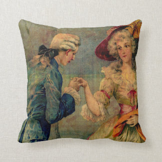 Romantic Meeting Throw Pillow