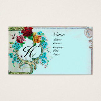 ROMANTIC MONOGRAM 3 BUSINESS CARD