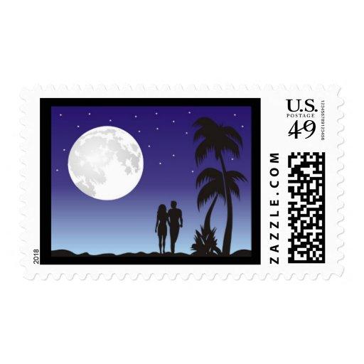 romantic_moon stamp
