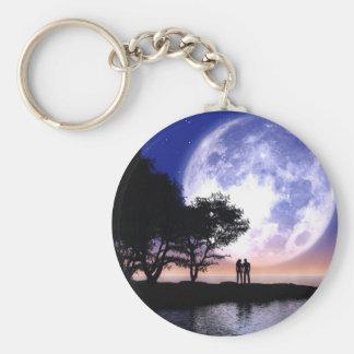 Romantic Moonlight Keychain