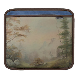 Romantic  Mountain Landscape iPad Sleeve
