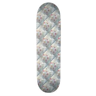 Romantic Multi Peony Skateboard