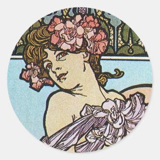 Romantic Muse Sticker