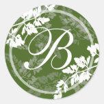 Romantic Nature/ Monogram Sticker