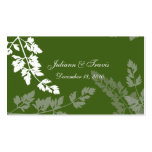 Romantic Nature/ seating card Business Card Templates