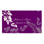 Romantic Nature seating card Business Card