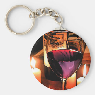 Romantic night keychain