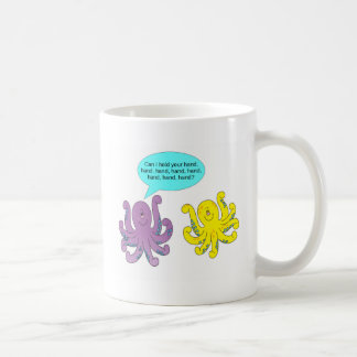 Romantic Octopus Coffee Mug