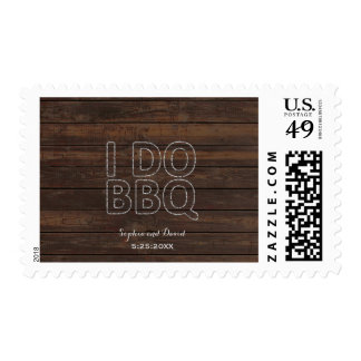 Romantic Old Barn String Lights I DO BBQ Postage