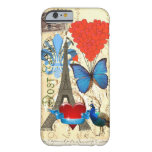 Romantic Paris collage Barely There iPhone 6 Case