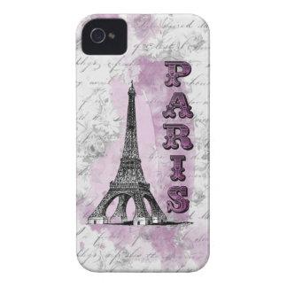 Romantic Paris iPhone 4 Case