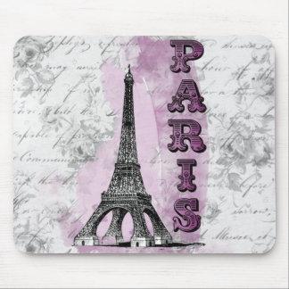 Romantic Paris Mouse Pad